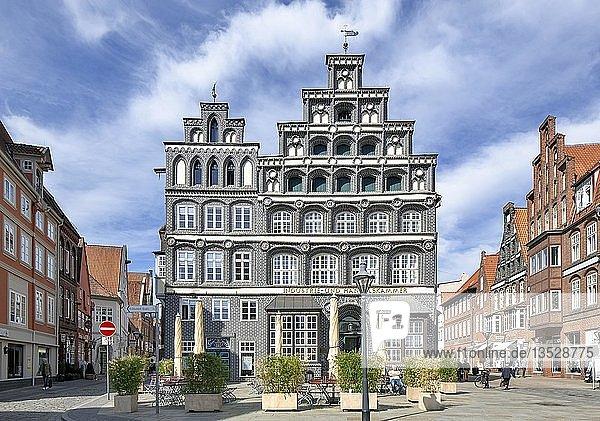 Haus Schütting  historisches Kaufmannshaus Am Sande  heute Industrie- und Handelskammer Lüneburg-Wolfsburg  Lüneburg  Niedersachsen  Deutschland  Europa