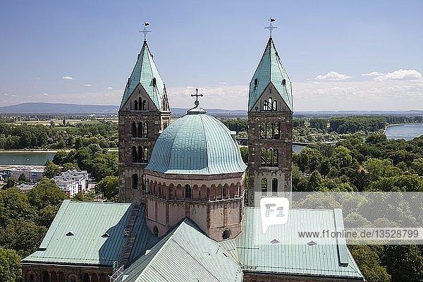 Dom St. Maria und St. Stephan  Kaiserdom  romanisch  UNESCO-Weltkulturerbe  Speyer  Rheinland-Pfalz  Deutschland  Europa