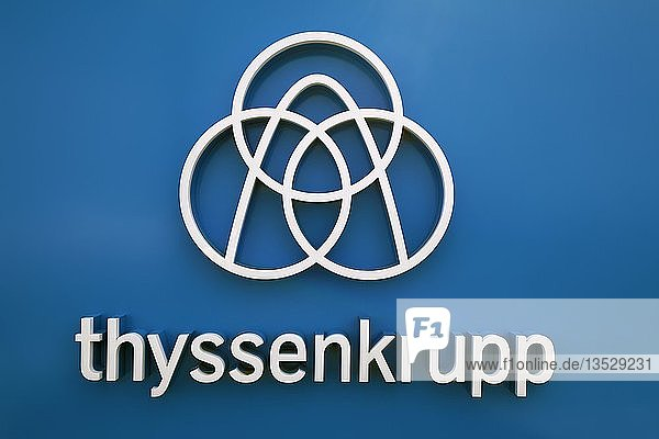 Logo  Thyssenkrupp  Rottweil  Baden Württemberg  Deutschland  Europa