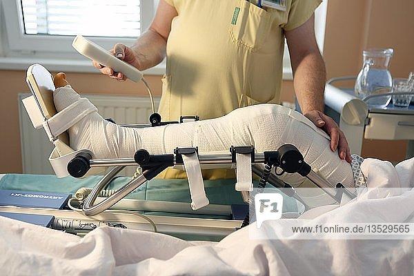 Rehabilitation  Patient  Krankenhauszimmer  Chirurgieabteilung  Gesundheitsdienst  Krankenhaus  Tschechien  Europa