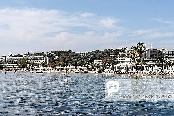 Strand  Hotels  Dassia  Insel Korfu  Ionische Inseln  Mittelmeer  Griechenland  Europa