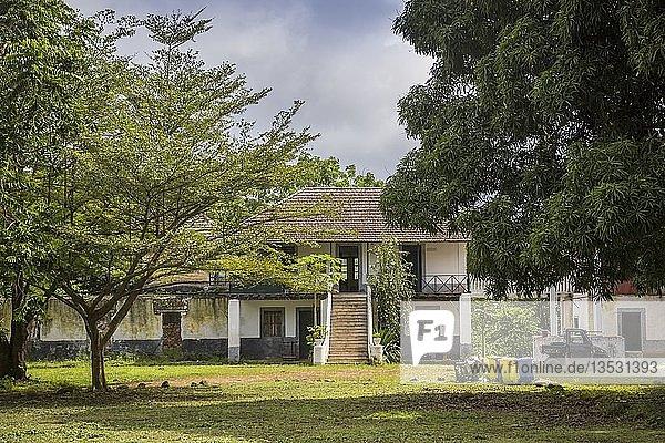 Verwalterhaus  Roça Paciência  Insel Príncipe  São Tomé und Príncipe