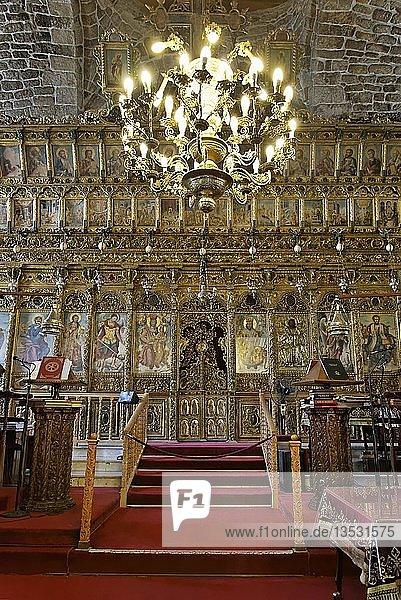 Altar Lazarus-Kirche  Agios Lazaros  Grieschisch-Orthodox  Larnaka  Südzypern  Zypern  Europa