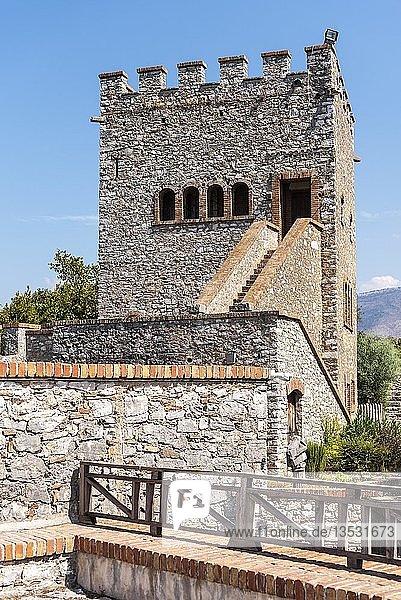 Venezianische Burg,  antike Stadt Butrint,  Nationalpark Butrint,  Saranda,  Albanien,  Europa