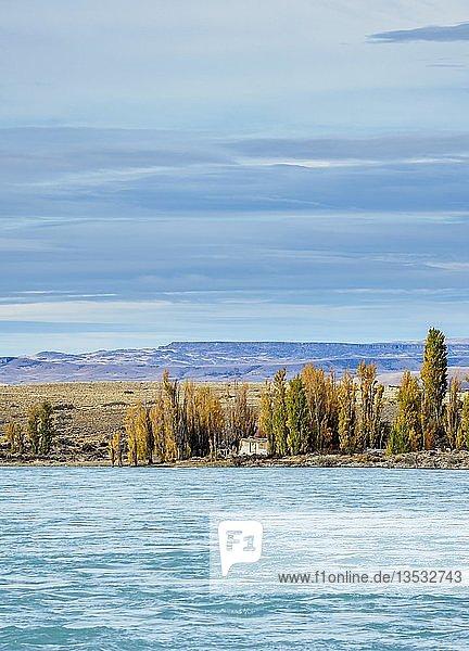 La Leona River,  Provinz Santa Cruz,  Patagonien,  Argentinien,  Südamerika