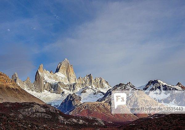 Mount Fitz Roy  Los Glaciares Nationalpark  Provinz Santa Cruz  Patagonien  Argentinien  Südamerika