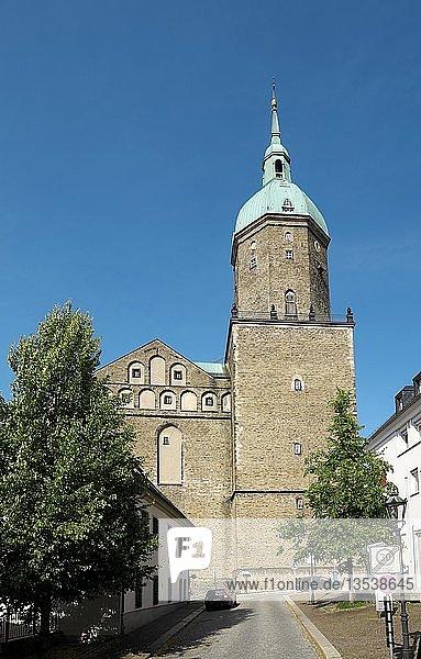 St. Annenkirche  Annaberg-Buchholz  Erzgebirge  Sachsen  Deutschland  Europa