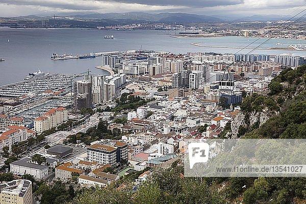 Hafen  Gibraltar  Großbritannien  Europa
