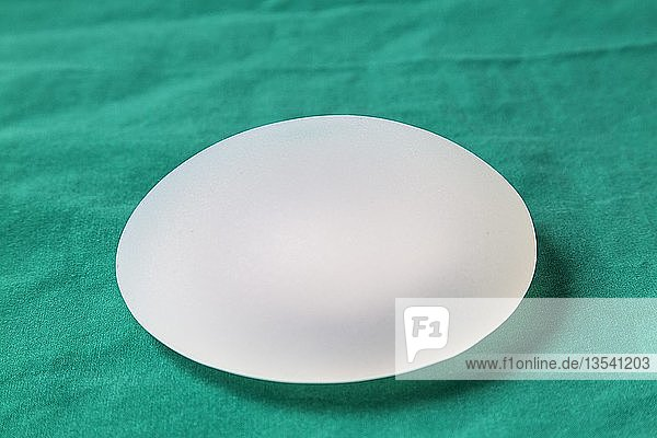 Silicone breast implant  for the enlargement of a female breast  Germany  Europe