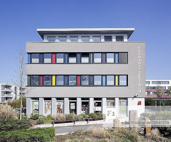 Facharztzentrum auf dem Paderborner Gesundheitscampus  Paderborn  Ostwestfalen  Nordrhein-Westfalen  Deutschland  Europa
