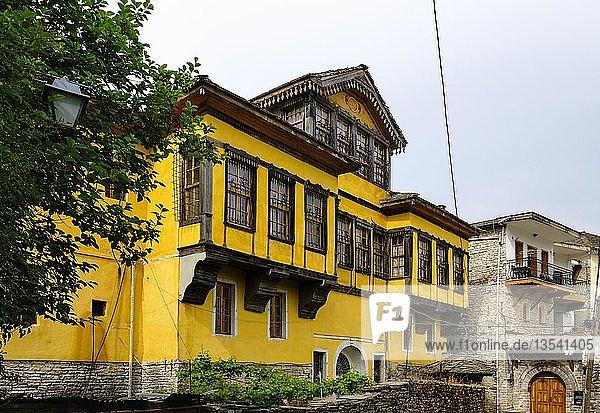 Fico-Haus  Stadtteil Palorto  Altstadt  Gjirokastra  Gjirokastër  Albanien  Europa