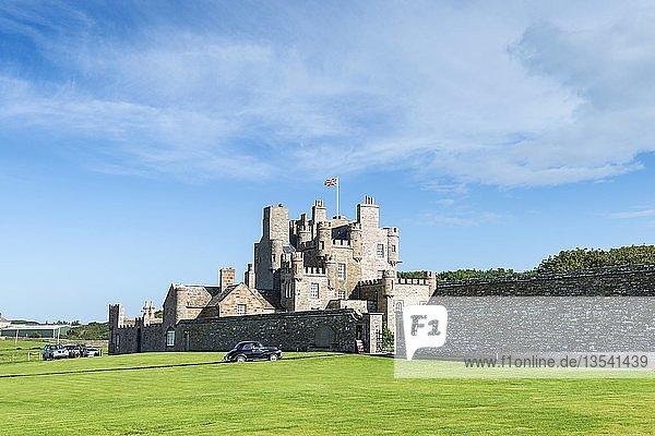 Castle of Mey  früher Barrogill Castle  ehemaliges Residenzschloss der Queen Mum  Grafschaft Caithness  Schottland  Großbritannien  Europa