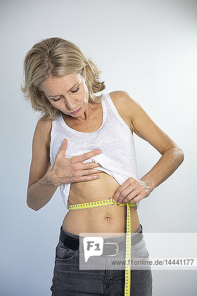 Woman and waist