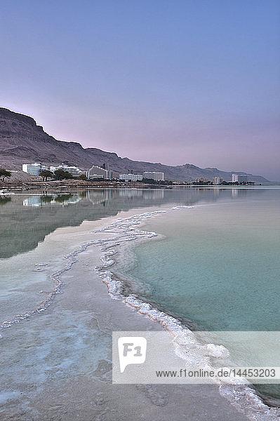 Hotel am Ufer des Toten Meeres