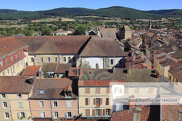 France  Bourgogne Franche Comte  Saone et Loire department (71)  Cluny