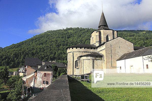 France  Occitanie (Midi Pyrenees )  Hautes Pyrenees (65)  Saint Savin  abbatial church