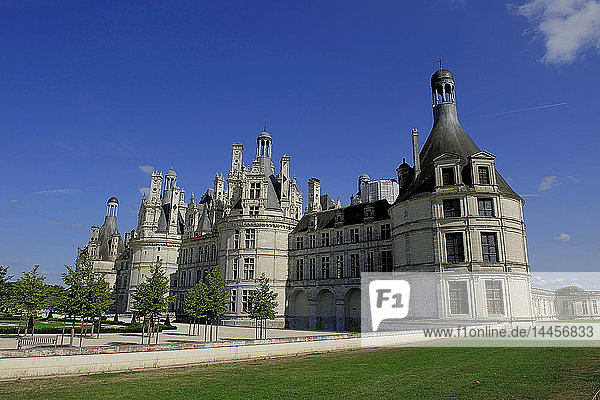 Europe  France  Centre-Val of the Loire  Loir-et-Cher ( 41 )  Loire valley  classified in the UNESCO world heritage  National Domain of the Castle of Chambord  Castle  Park