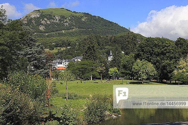 France  Occitanie (Midi Pyrenees )  Hautes Pyrenees (65)  Argeles Gazost  termal park