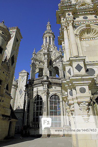 Europe  France  Centre-Val of the Loire  Loir-et-Cher ( 41 )  Loire valley  classified in the UNESCO world heritage  National Domain of the Castle of Chambord  Castle  Tour of the Lantern