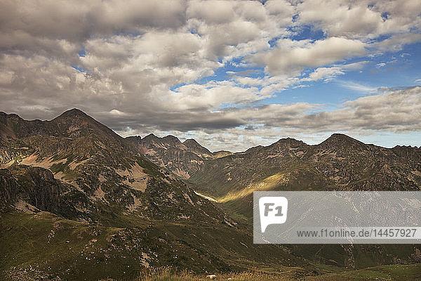 France  Ariege  Pyrenees  peak Ruhle