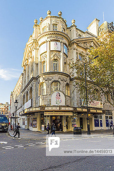 The Novello theatre in Covent Garden in London  England  United Kingdom.
