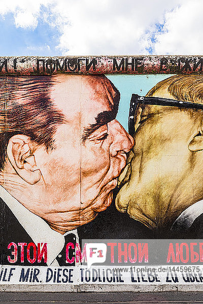 My God  Help Me to Survive This Deadly Love by Dmitri Vrubel on the Berlin Wall  Berlin  Germany