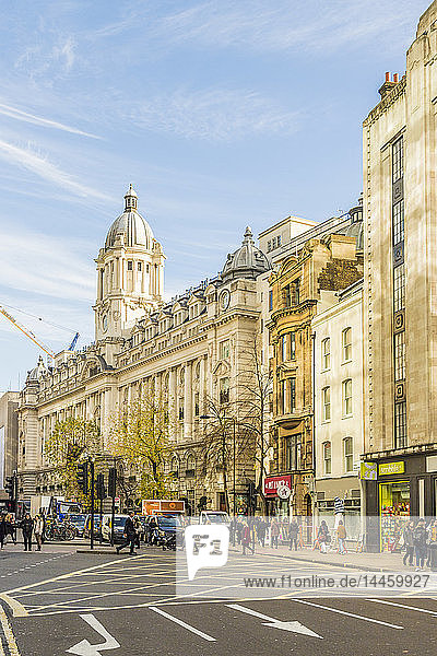 A view of High Holborn  in London  England  UK