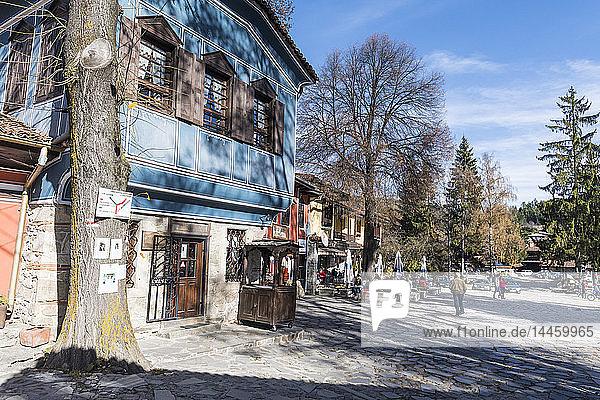 Town square of Koprivshtitsa  Bulgaria