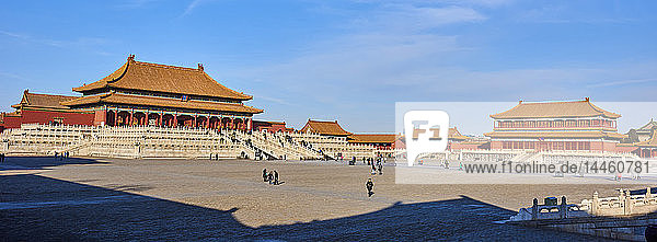 Gate of Supreme Harmony  Forbidden City  Beijing  China  East Asia