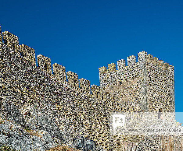 Medieval Castle  Obidos  Oeste  Leiria district  Portugal