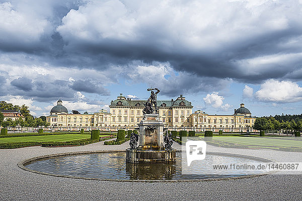 Drottningholm Palace,  UNESCO World Heritage Site,  Stockholm,  Sweden,  Scandinavia