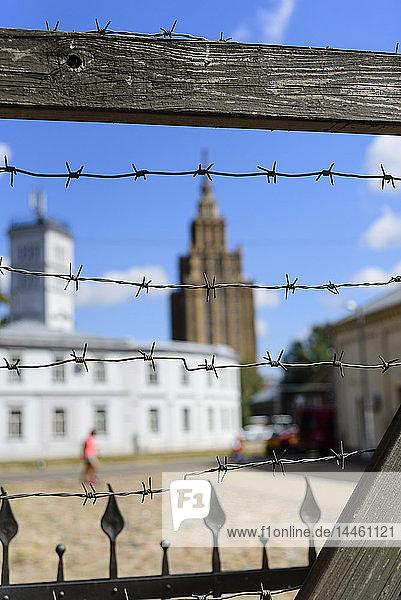 Ghetto and Holocaust Museum  Riga  Latvia