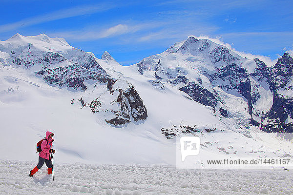 The Diavolezza Mountain  Canton of Graubunden (Grigioni)  Switzerland