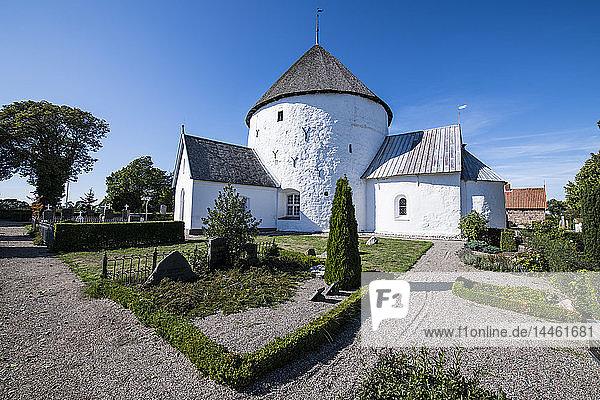 Nylars Round Church  Bornholm  Denmark  Scandinavia