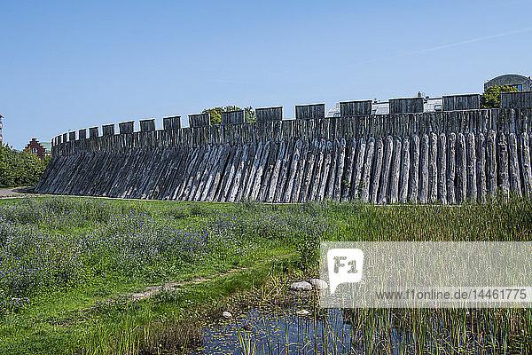 Trelleborg Viking ring Fortress  Trelleborg  Sweden  Scandinavia