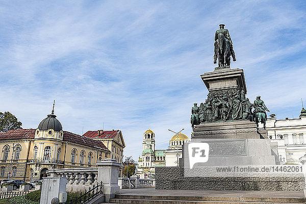 Tsar Osvoboditel monument  Sofia  Bulgaria