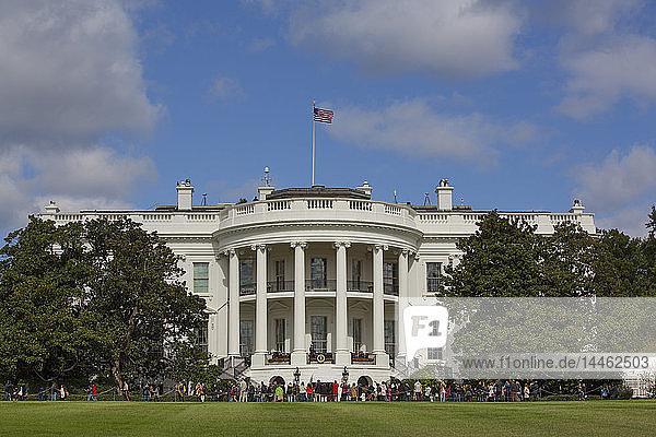 South Portico  White House  Washington D.C.  United States of America  North America
