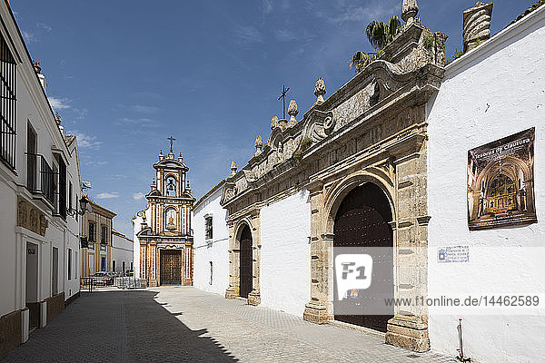 Chapel of Charity  Carmona  province of Seville  Andalusia  Spain