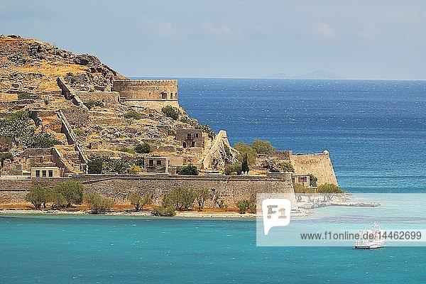 Spinalonga Island  Elounda  Crete Island  Greek Islands  Greece