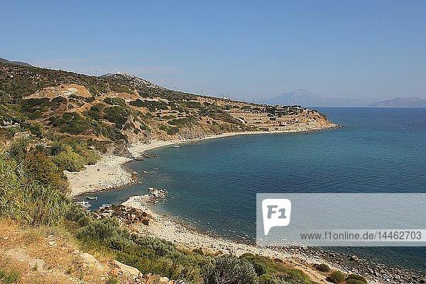 Surroundings of Agios Kirikos  Ikaria Island  Greek Islands  Greece