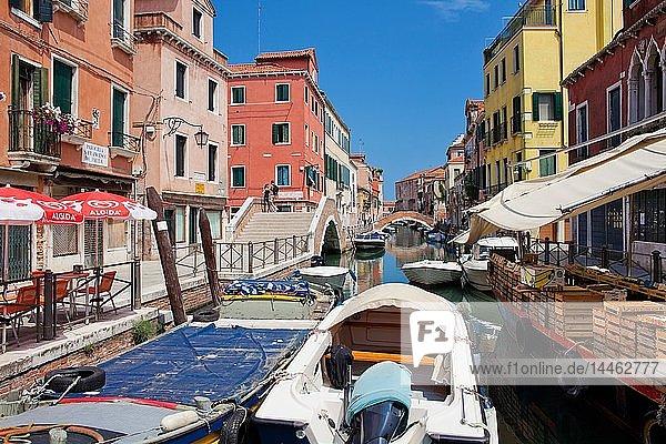 Fondamenta di Sant'Anna  Sestiere di Castello   Venice  Veneto  Italy