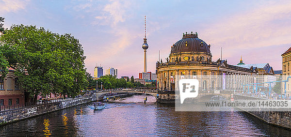 Bode Museum on the River Spree in Berlin  Germany