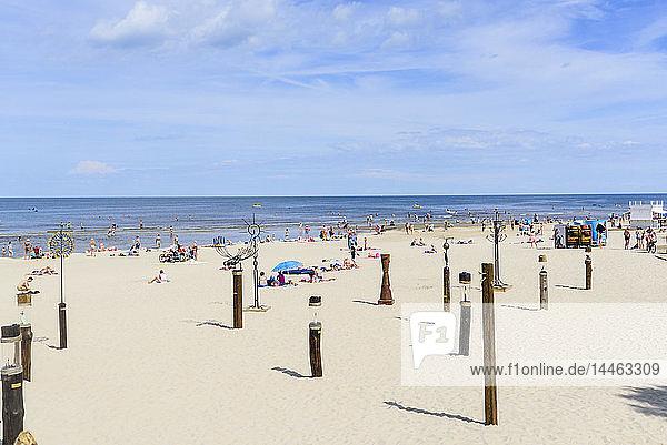Jurmala Beach  Gulf of Riga  Latvia