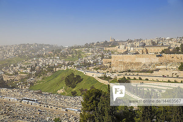 Mount of Olives  Jerusalem  Israel  Middle East