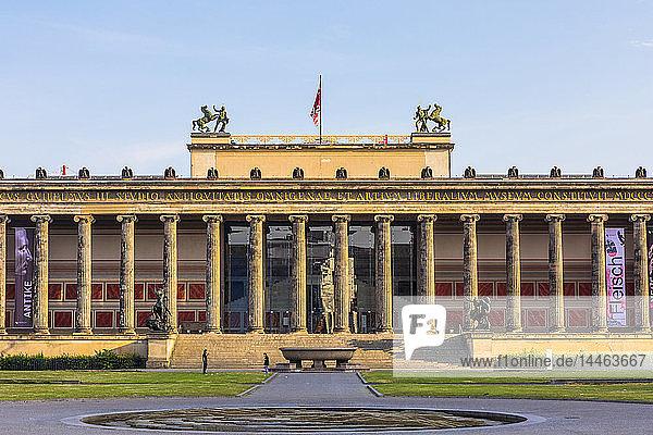 Altes Museum in Berlin  Germany