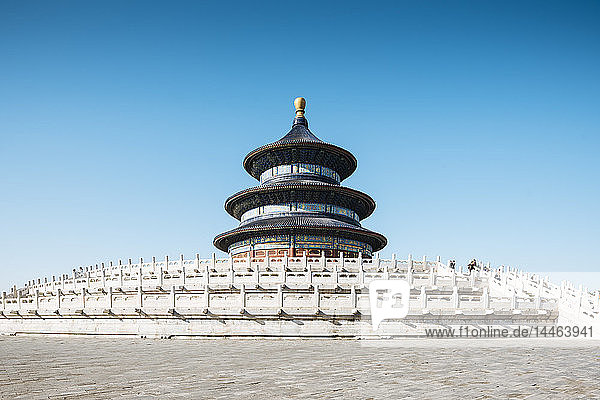 Hall of Prayer for Good Harvests  Temple of Heaven  UNESCO World Heritage Site  Beijing  China