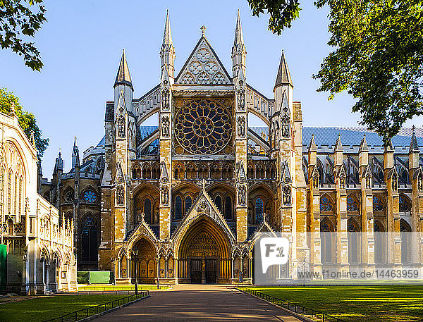 Westminster Abbey in London  England