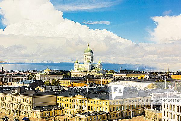 Cityscape of Helsinki  Finland
