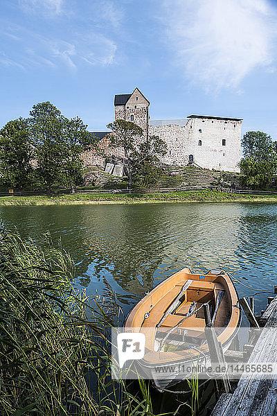 Finland  Aland  Kastelholm castle