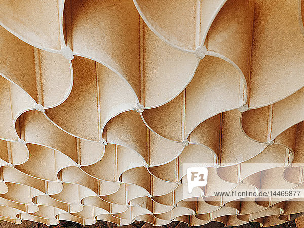Bahrain  Manama  National Museum  close-up of geometric facade